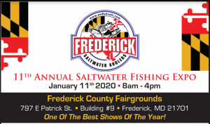 11th Annual Saltwater Fishing Expo @ Frederick County Fairgrounds