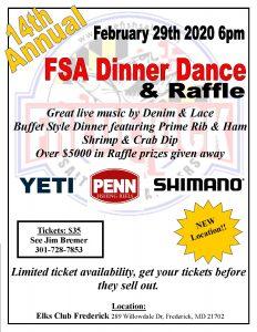 FSA Dinner Dance @ Elks Club Frederick